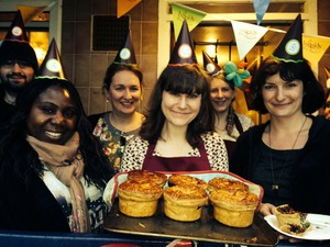Large bemerton street pie party