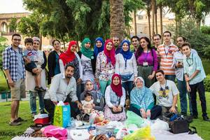 Large sb dish party cairo september 2014