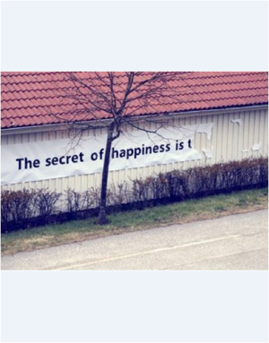 Large the secret of happiness 3