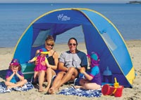 Cancer Council Pop Up Beach Tent & Streetbank - Share things with your neighbours